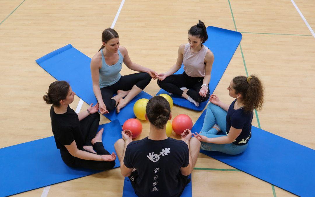 Skupinska vadba Joga in pilates
